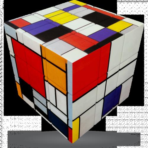 V-CUBE 3 Flat - Mondrian