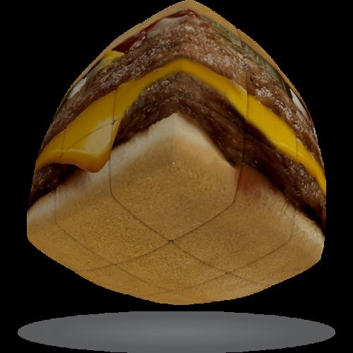 V-CUBE 3 Pillowed - Burger