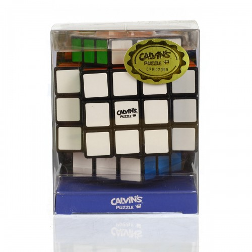 Calvin's Puzzles 3x3x5 Cross Cube - Black - In Packaging