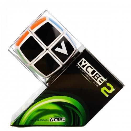 V-CUBE 2 Pillowed - White - In Packaging