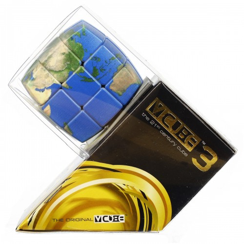 V-CUBE 3 Pillowed - Earth - In Packaging