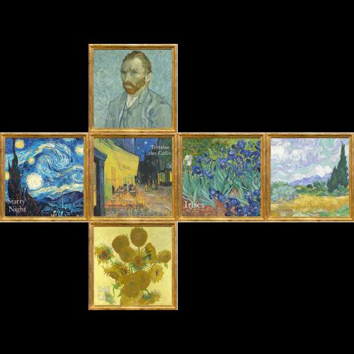 V-CUBE 2 Flat - Van Gogh