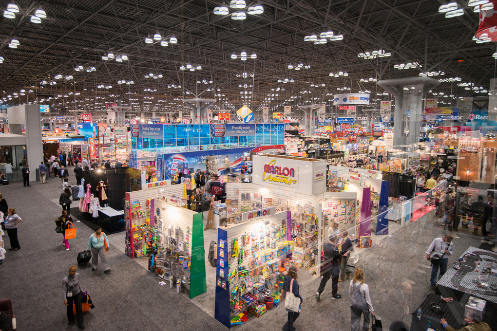 Orbet international exhibiting at tia toy fair in new york for Craft fair nyc 2017