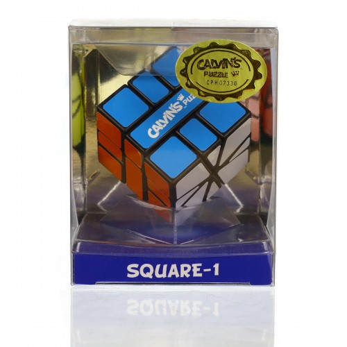 Calvin's Puzzles Square 1 - Black - In Packaging