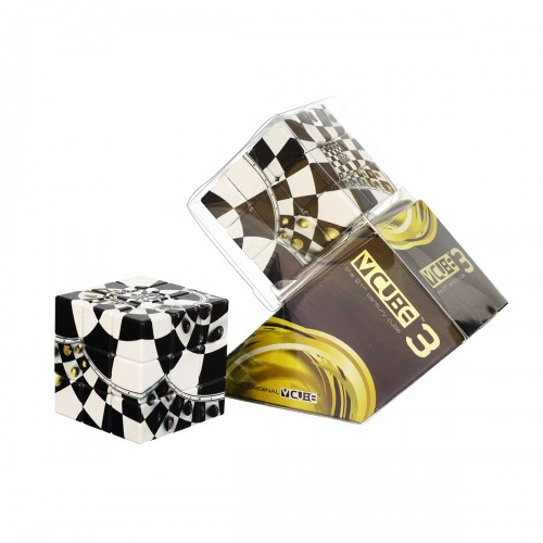 V-CUBE 3 Flat - Chessboard