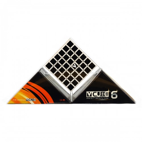 V-CUBE 6 Flat - White - In Packaging