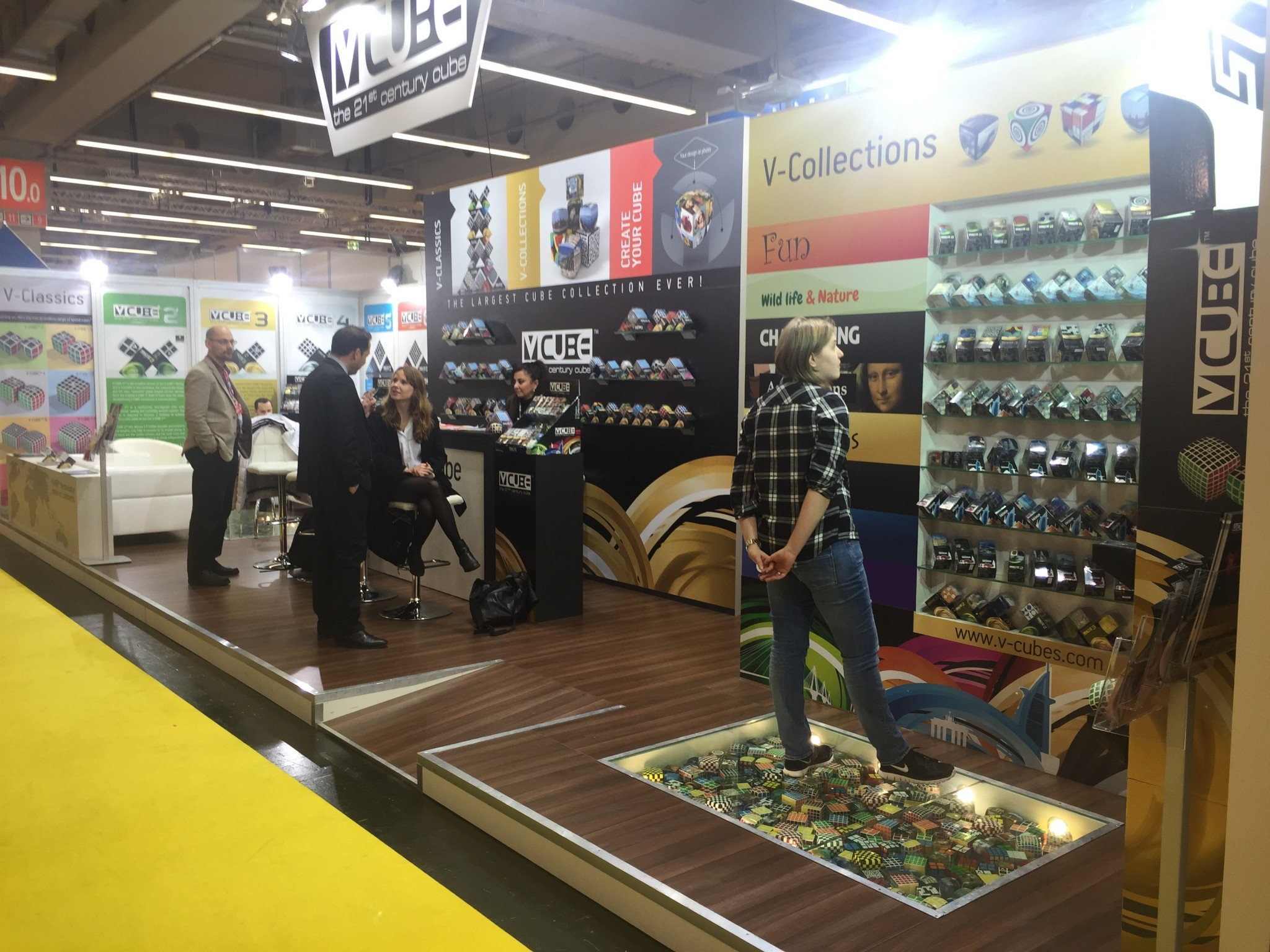 V-CUBE™ Booth at The International Toy Fair Nuremberg